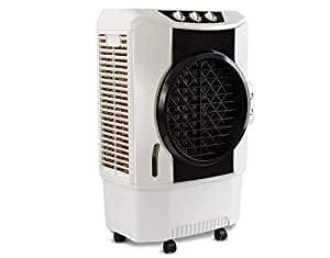 Usha Air King 70-Litre Desert Cooler (CD703M) with Bacteria & Fungal Protection (White/Black)