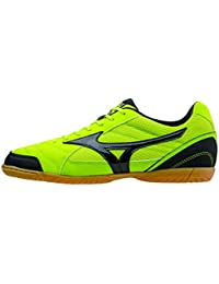 Mizuno Sala Club 2 IN, Zapatilla de fútbol Sala, Lime-Black