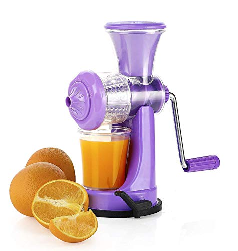 Supreme Mall Nano Manual Plastic Fruit and Vegetable Juicer with Vacuum Locking System