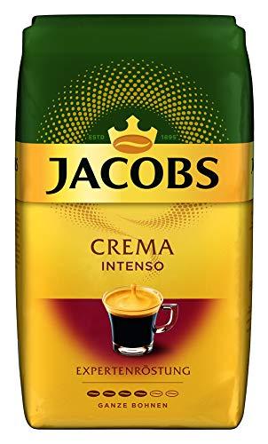 Jacobs Kaffeebohnen Expertenröstung Crema Intenso, 1 kg Bohnenkaffee