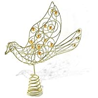 Dove Wire Christmas Tree Topper