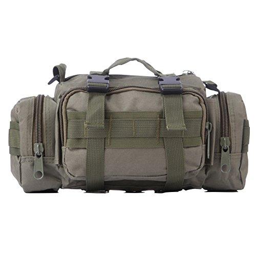 ELEAR® Utility Tactical Bag Marsupio Outdoor Borsa a tracolla Zaino tattici militari Sport all'aperto Campeggio Escursioni fango verde