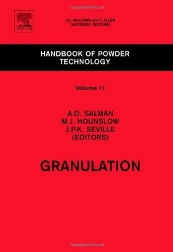 Granulation (Volume 11) (Handbook of Powder Technology (Volume 11))