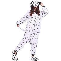 YUWELL Unisexe Kigurumi Pyjamas Adulte Cosplay Animaux Onesie Costume Halloween Noël Soirée de Déguisement