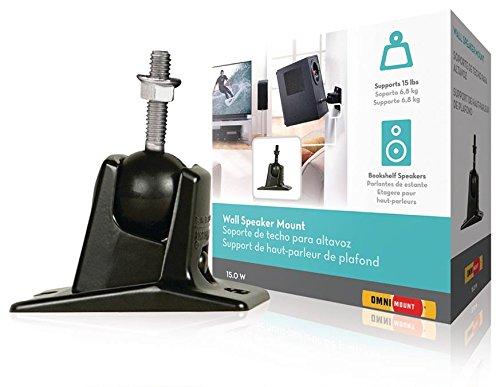 Lautsprecherhalter vollbeweglich 6.8 kg Schwarz, Enhance your audio system: OmniMounts Stainless (973977015303) Omnimount Systems Home Audio