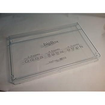 Schublade Schubkasten Big Box Blende vom Gefrierschrank Bosch Siemens Blende z