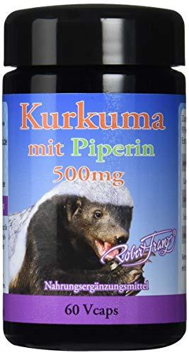 Robert Franz Kurkuma mit Piperin 60 Kapseln