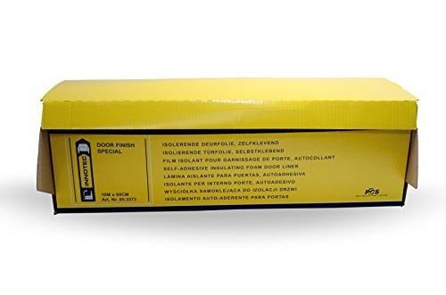 Preisvergleich Produktbild INNOTEC Door Finish Special 10 mtr. (Türdichtungsfolie) ist eine selbstklebende Innentürverkleidung, gegen Eindringen von Wasser und Schallwellen aus dem Innenhohlraum der Tür