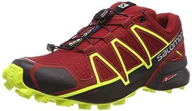 Salomon Herren Speedcross 4, Trailrunning-Schuhe, Rot, 40 EU