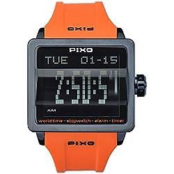 PX-1 ORANGE, Digital Flip Watch