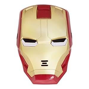 Iron Man LED Lights Mask Superhero Camouflage Face Cosplay Party