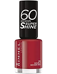 Rimmel London 60 secondes Super Shine Vernis à ongles 8 ml