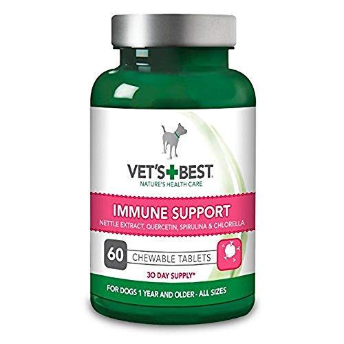 Vet's Best Integratore Supporto Sistema Immunitario per Cani - 60 Compresse