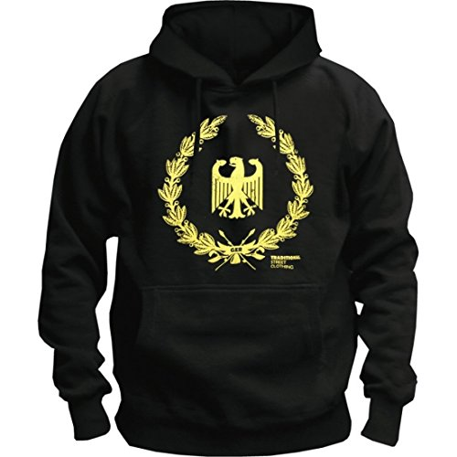 Zoonamo Hoody Deutschland Classic Schwarz