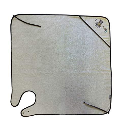 Slumbersac - Toalla con capucha (100 x 100 cm), diseño de osito