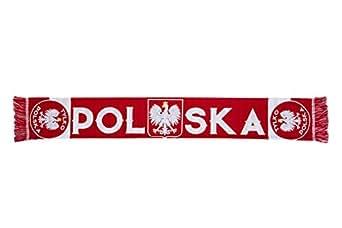 Poland Scarf. Poland Supporters. Polska. Polen. Schal. Euro 2016 France. Football Supporters. Fußballfan