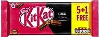 Nestle Imported 2 finger x 6 Pack Dark FLavor Dark Chocolate 124 gm