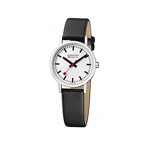 Orologio da Donna Mondaine A658.30323.11SBO, Nero/Bianco