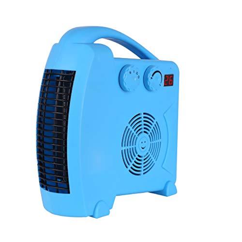 Heizung, Haushalt Energiesparendes Badezimmer Wasserdichte dreistufig verstellbare elektrische Heizkörper (Farbe : Blau) (Elektro-kamin Blue)