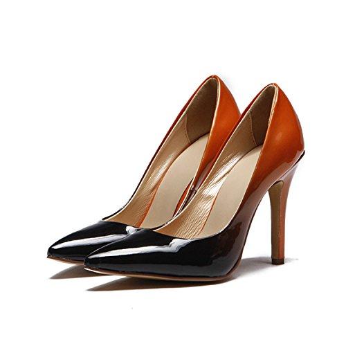 Kevin Fashion , Sandales Compensées femme Rouge - Rouge/noir