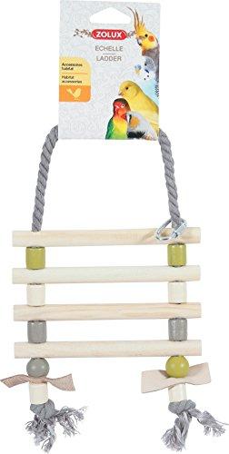 Echelle Corde + Cuir Coloris Assortis
