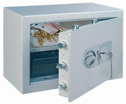 Wertschutzschrank Opal Premium - Elektronikschloss - Typ: 55-EL, Außen- maß: 540x- 500x410 mm, Innen- maß: 470x- 454x323 mm, Vol: 69 l, Fach- böden: 1, Bolzen: 8, Gewicht: 66 kg, Innen- tresor: -