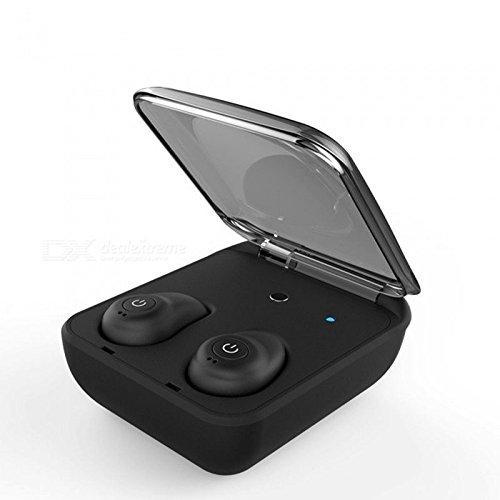 ZXzz Mini-Bluetooth 4.1 Kopfhörer-Noise Reduction Bluetooth-Kopfhörer für Handy-drahtlosen Sport-Bass-Kopfhörer, A (Headset Innovationen Wireless)