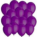100x Rundballons / Wasserbomben LILA Ø10cm + Geschenkkarte + PORTOFREI mgl. High Quality Premium Ballons vom Luftballonprofi & deutschen Heliumballon Experten. Tolle Luftballondeko und Geschenkidee mit Ballons.