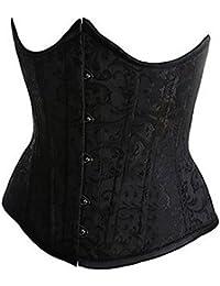E-Girl design unique Corset près du corps,Noir