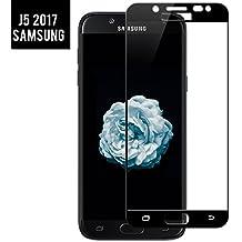 Samsung Galaxy J5 2017 Protector de Pantalla Cristal Templado BIGMEDA 3D Cobertura Completa Screen Protector Ultra Delgada y Alta Sensibilidad al Tacto[Alta Definicion]Pantalla J5 2017 Ajuste Perfecto