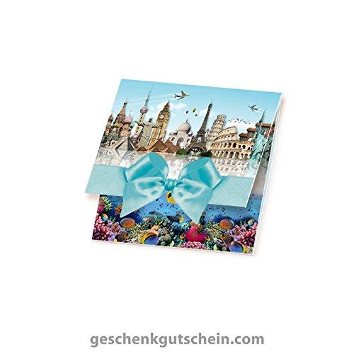 10 Stk. Quadratische Caro-Gutscheine R100 für Reisebüros und den Tourismus.