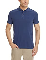 Blackberrys Mens Polo (8907196577380_UK-BARRYTON-S2-UC3_40_Prussian Blue)