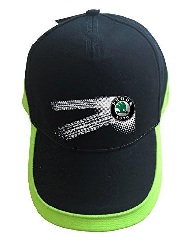 mmshop18 Skoda - Auto Logo Unisex Baseball Cap Mütze -c52 (sw-grün)