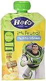 Hero - Bolsita De Fruta Nanos  Mediterráneo 100 gr - Pack de 6 (Total 600 grams)