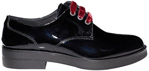 Soldini 20281-v-t33, Chaussures Derby À Lacets Pour Femme Noir