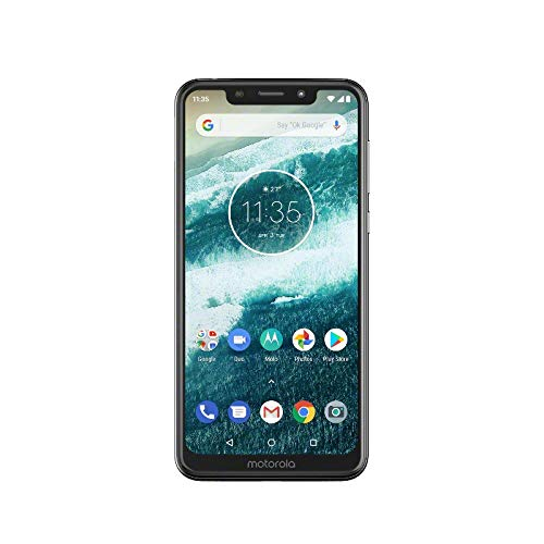 Motorola One - Smartphone Android One (pantalla de 5.9'' ratio 19:9, cámara...