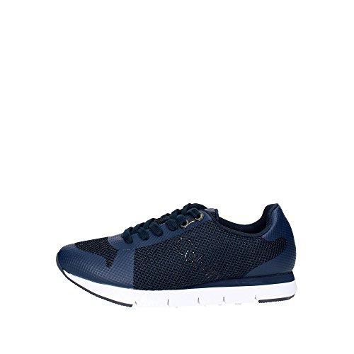 Calvin Klein Jeans Jack Mesh/HF Hommes Sneaker Bleu S1673, Taille:45
