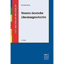 Neuere deutsche Literaturgeschichte: Eine Einführung (bachelor-wissen)