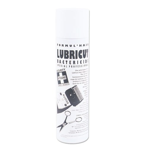 Lubrifiant pour matériel de coiffure, ciseaux et têtes de coupe tondeuses, 400ml