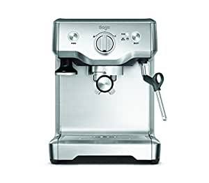 Sage Appliances SES810 Espresso-Maschine The Duo Temp Pro, Gebürstetes Edelstahl