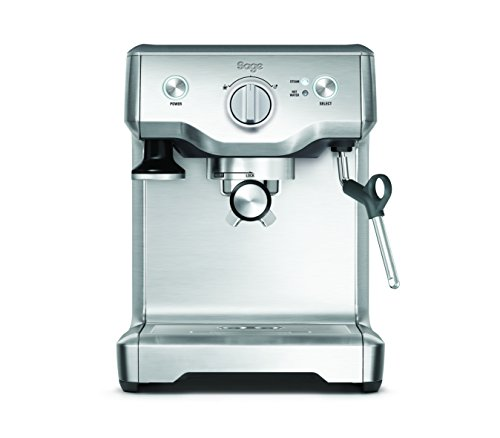 Sage by Heston Blumenthal the Duo Temperature Pro Coffee Machine, 1700 W – Silver 41Sj BRtDBL