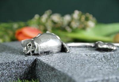 Grabkreuz mit Rose von friedhofskerze.de bei Du und dein Garten