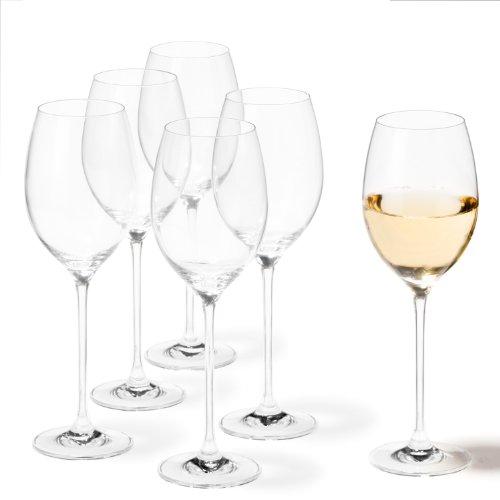 Leonardo 081431 - Set/6 Weißweingläser Cheers