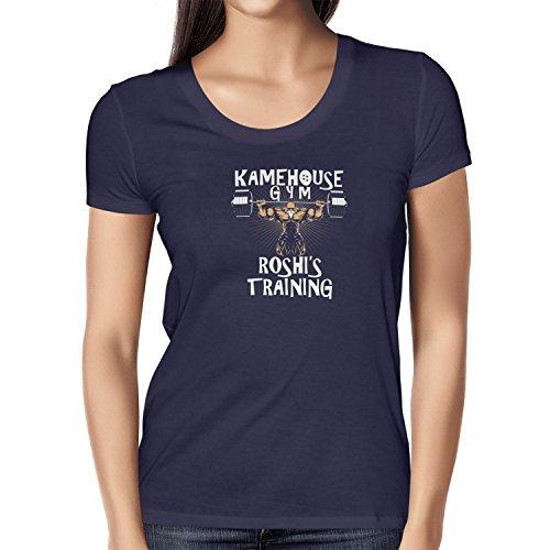 TEXLAB - Kame Gym - Damen T-Shirt Navy