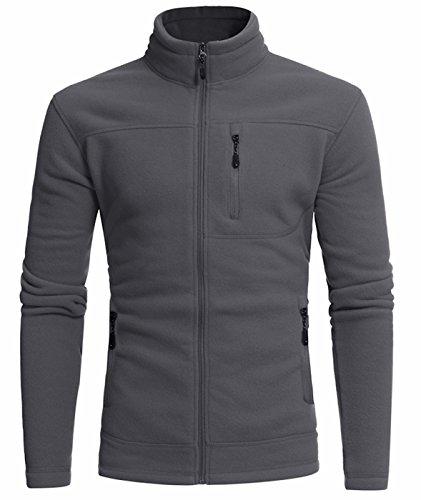 Idol Herren Full Zip Fleece Oberbekleidung Jacke (Columbia Isolierte Weste)