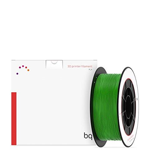BQ 05BQFIL030 - Filamento de PLA para impresión 3D, color verde