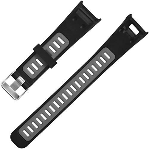 TianranRT★ Universalarmband Für Die Uhr - Armband Für Soft Sports Silikon-Ersatzarmband Für Garmin Vivosmart Hr, New Durable And Beautiful, Grau (Wels Uhr)