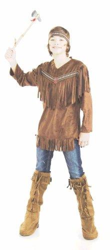 Native American brave Fancy Kleid Kostüm (Brust: ()