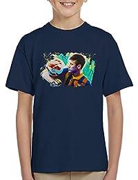 Sidney Maurer Original Portrait of Neymar Barcelona KidS T-Shirt