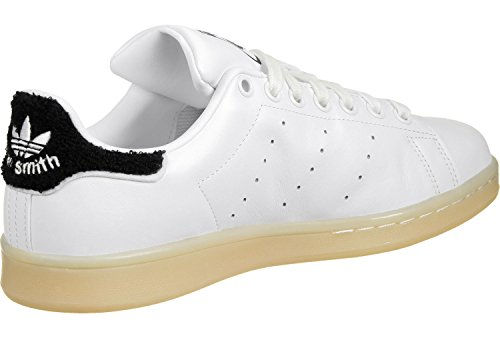 adidas Stan Smith W, Baskets Femme blanc bleu